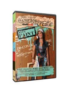 Michele Beschen's Courage to Create with Paint DVD